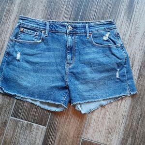 Denizen size 10 denim shorts